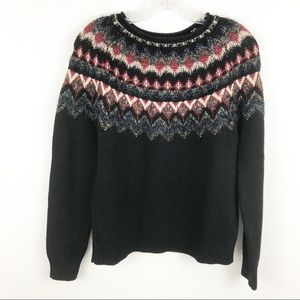 NWT Lucky Brand fair isle pullover sweater
